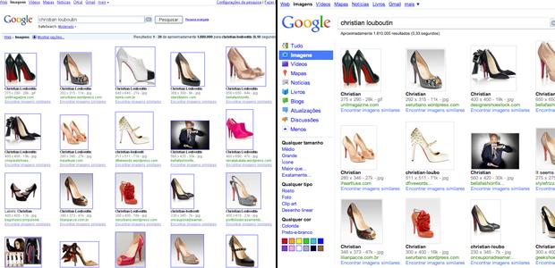 A pesquisa por imagens do Google permite até que se escolha as fotos pela cor.
