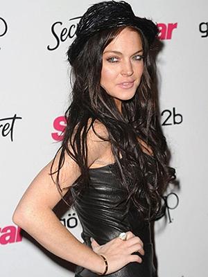 A atriz Lindsay Lohan, que deve ser Linda Lovelace nos cinemas.