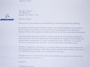 Empresa respondeu carta do menino