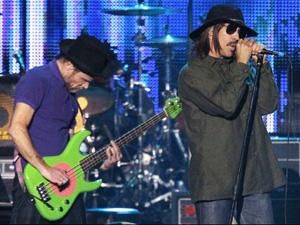 O Red Hot Chili Peppers se apresenta em janeiro de 2010