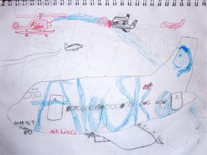 Harry Winsor enviou seu desenho favorito