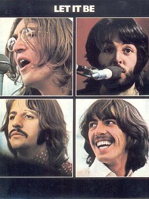 Detalhe da capa de 'Let it be', lançado em 8 de maio de 1970