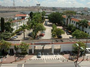 Fachada da fábrica em São Caetano do Sul