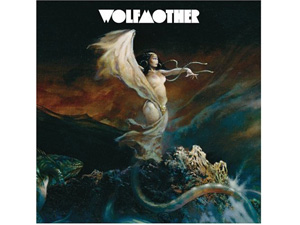 Capa do disco de estreia do Wolfmother, com ilustração de Frank Frazetta
