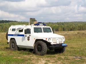 Blindado semelhante ao que será usado pelas tropas de elite da polícia