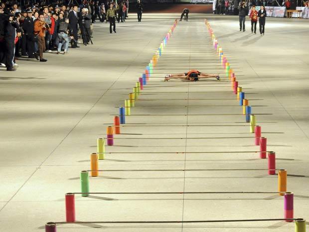 Li Mingfen superou por cinco metros a antiga marca.