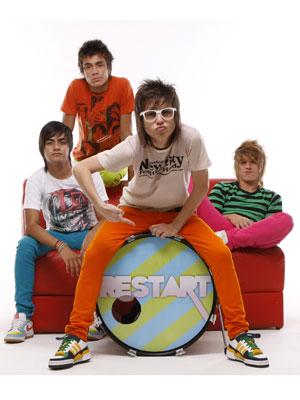 O grupo de pop rock Restart (Foto: Divulgação)