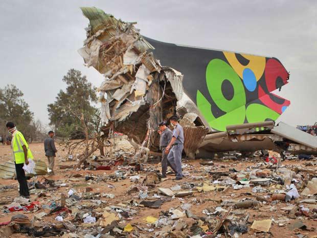 acidente aéreo líbia