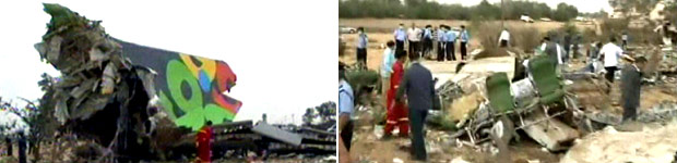 Avião com 104 a bordo cai na Líbia (Avião com 104 a bordo cai na Líbia (Avião com 104 a bordo cai na Líbia (Avião com 104 a bordo cai na Líbia (Avião com 104 a bordo cai na Líbia (AP photo/Libyan TV)))))