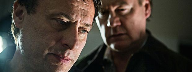 O ator Michael Nyqvist (à frente) protagoniza 'Os homens que não amavam as mulheres'.