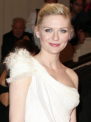 A atriz Kirsten Dunst, que estará em 'On the road'.