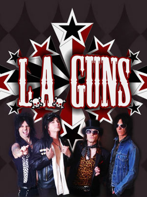L.A. Guns - fundador do Guns N' Roses em S&#227;o Paulo
