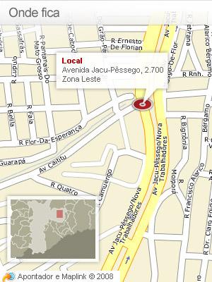 Mapa Jacu Pêssego