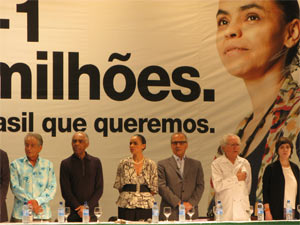 Marina Silva anunciou seu vice na chapa
