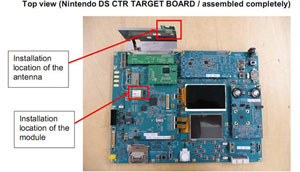 Placa Nintendo 3DS