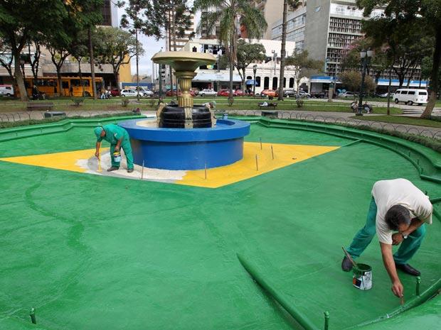 Praça Curitiba Copa do Mundo
