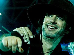 O músico Gustavo Cerati, da banda argentina Soda Stereo.