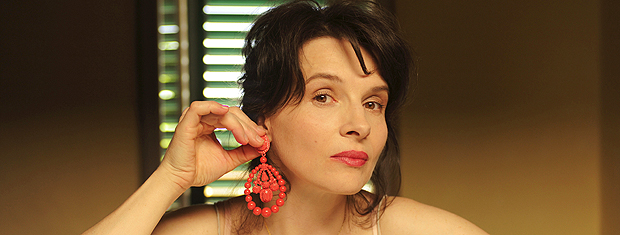 Juliette Binoche em cena de 'Copie conforme': Kiarostami imaginou filme com ela.