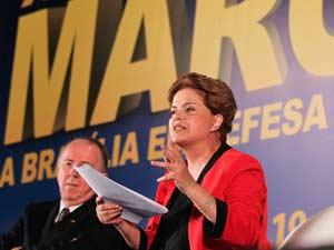Dilma participa de sabatina na XIII Marcha a Brasília em Defesa dos Municípios