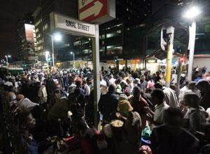 Small Street, no centro de Joanesburgo, concentra milhares de refugiados