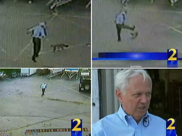 Walter Wilson foi atacado por uma raposa no estado da Geórgia.