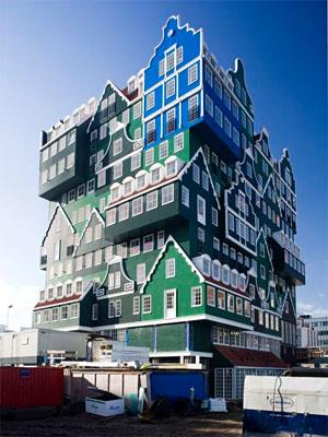 Hotel fica no centro da cidade de Zaandam