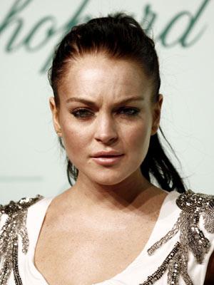 Lindsay Lohan foi vista em Cannes