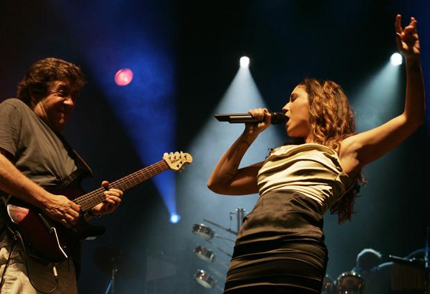 Maria Rita durante apresentação no segundo dia de Rock in Rio Lisboa