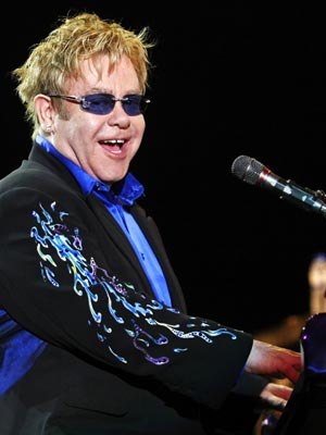 Elton John no Rock in Rio Lisboa (Foto: AP)