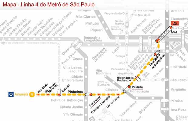 Linha 4-Amarela do Metrô de São Paulo