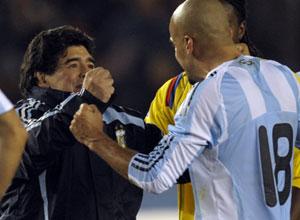 Propaganda clama argentinos a torcerem pela seleção nacional
