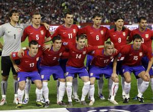 Seleção da Sérvia