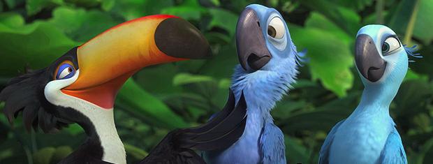 Cena de 'Rio': nova animação digital de Carlos Saldanha deve estrear em 3D em 2011.
