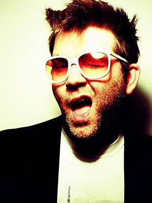 O cantor James Murphy, do LCD Soundsystem: ele admite uso de esteróides para cantar.