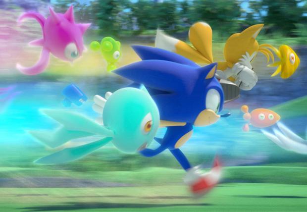 'Sonic Colours' será lançado para Wii e DS.