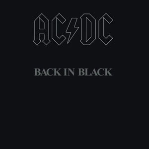 AC/DC - 'Back in black'