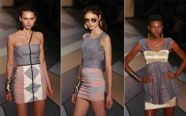 Desfile de Nica Kessler no primeiro dia de Fashion Rio