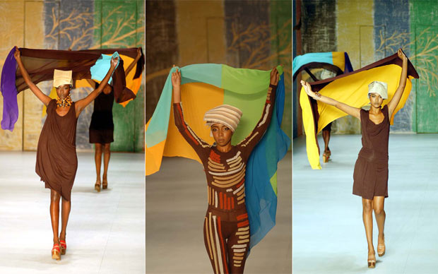 Walter Rodrigues abriu o Fashion Rio com desfile só de modelos negras