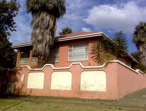 Casa que serviu de cativeiro do brasileiro