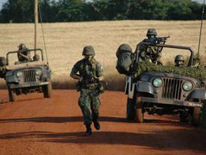 Treinamento do Exército