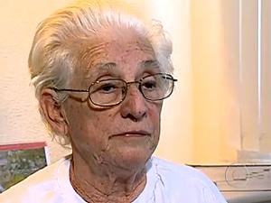 Lourdes Antunes Marques, de 77 anos, disse que ele começou a  ser aliciada para aplicar o golpe há seis meses