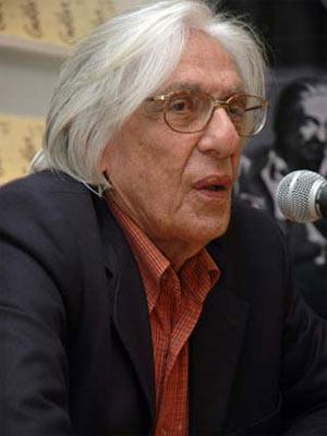 Ferreira Gullar, em evento sobre o seu livro mais famoso 'Poema sujo'