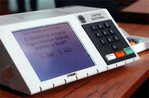 A partir de 2014, voto impresso será obrigatório no Brasil.
