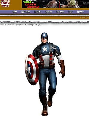 Essa será a roupa de 'Capitain America: the first avenger'