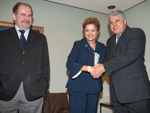 Dilma, Dutra e Alcides