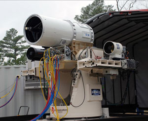 Canhão laser visto nos filmes de ficção se torna realidade nos navios da Marinha norte-americana.