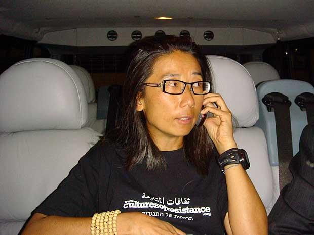 A cineasta brasileira Iara Lee desembarca em Istambul.