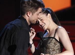 Os astros de 'Lua nova', Robert Pattinson e Kristen Stewart