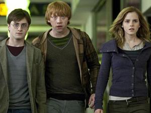 Imagem da primeira parte do último filme de 'Harry Potter'