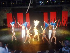 grupo de dançarinos brasileiros turquia